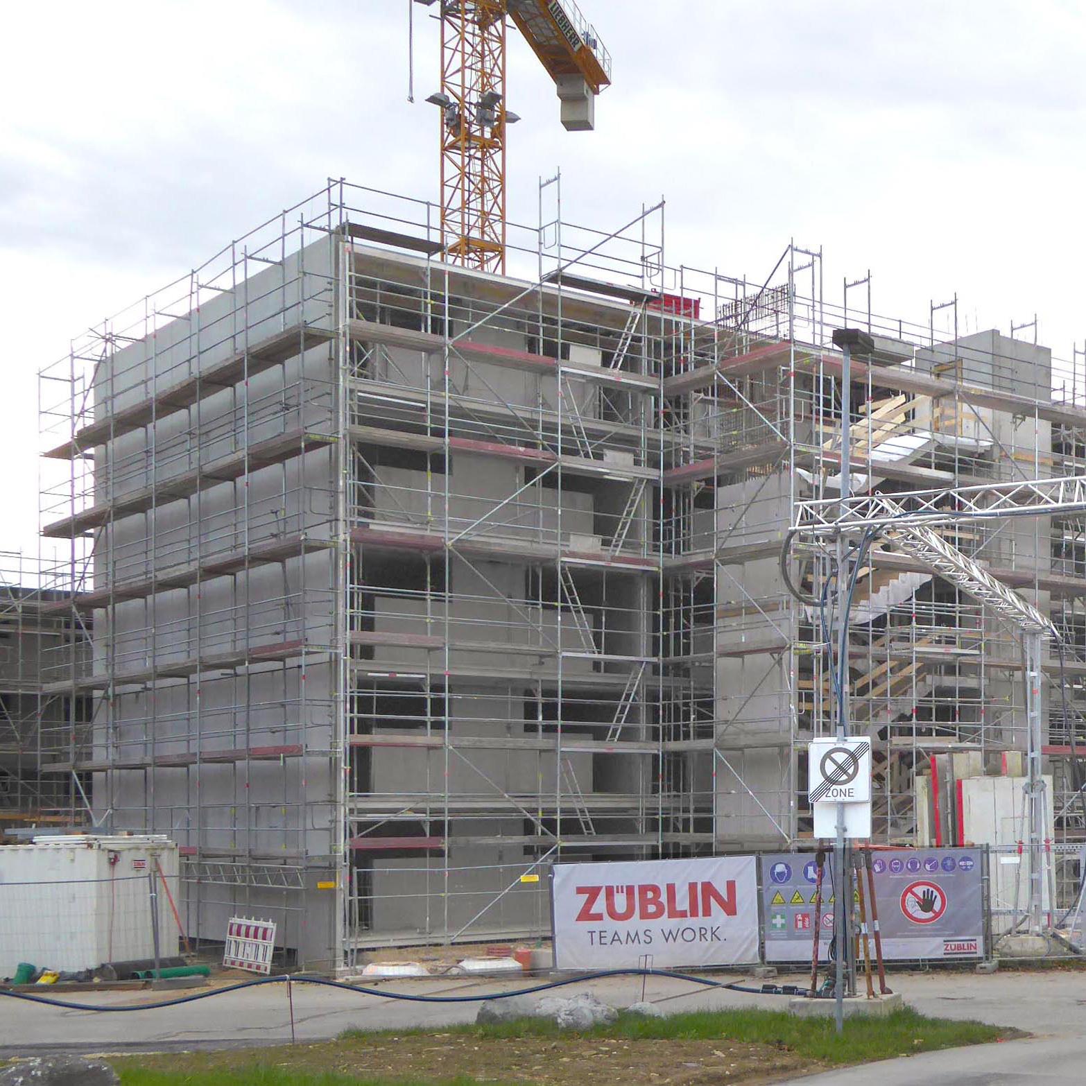 Baustelle März 2018